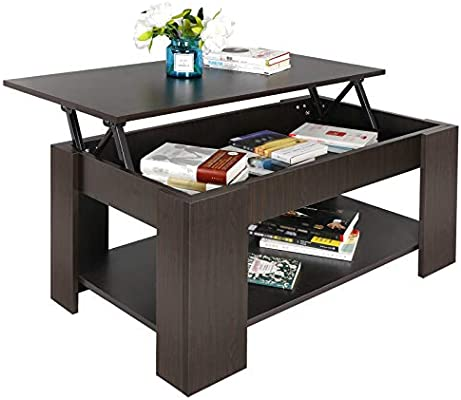 Incredible Super Deal Lift Top Coffee Table W Hidden Compartment And Storage Shelves Pop Up Storage Cocktail Table 1 Creativecarmelina Interior Chair Design Creativecarmelinacom