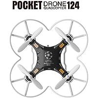 Esharing New Mini Drone RC Quadcopter,Micro Pocket Remote Control Headless UFO UAV Fun Toy Perfect Gift (Black)