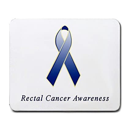 Amazon Rectal Cancer Awareness Ribbon Mouse Pad Office Products