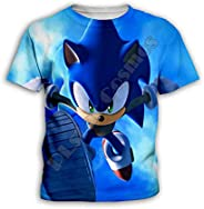 YX GIRL Kids Super Sonic Hoodie Novelty Sweater Hoodies Jacket for Boys and Girls