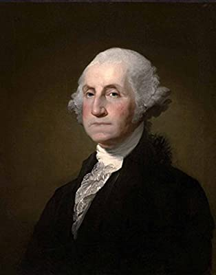 photograph regarding Printable Pictures of George Washington called Formal United Suggests Presidential Portrait: GEORGE WASHINGTON (8\