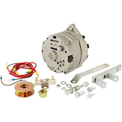 DB Electrical AKT0006 Alternator For Generator Conversion Massey Ferguson TO20 TO30 With 63 Amp Alternator