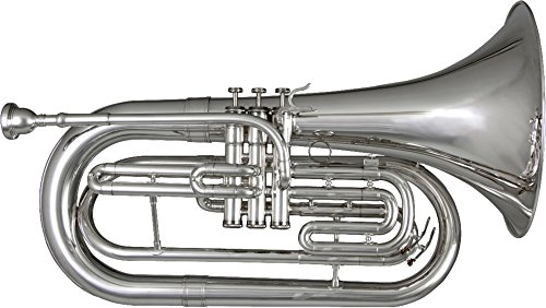 Blessing BM-301 Marching Baritone, Lacquered Brass by Blessing