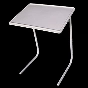 Azadx TV Tray, Portable Folding Snack Table, Adjustable Sofa Side Table For  Breakfast,
