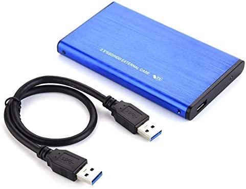 Carcasa externa de aleación de aluminio de 6,35 cm SATA a USB 3.0 ...