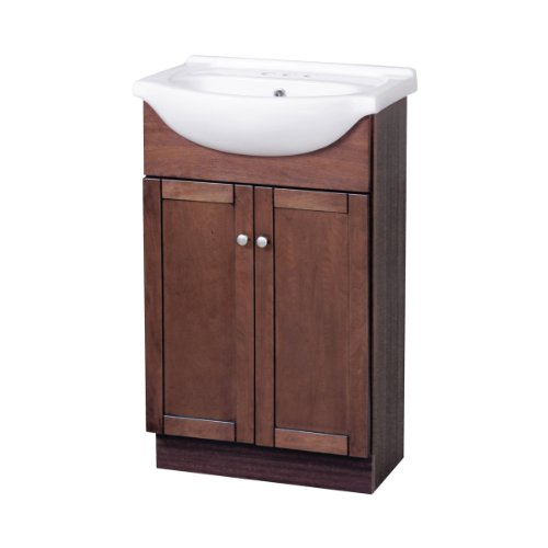 Foremost COCA2135 Columbia Contemporary Bathroom Vanity, 21-3/4 In W X 16-1/2 In D X 36-3/4 In H