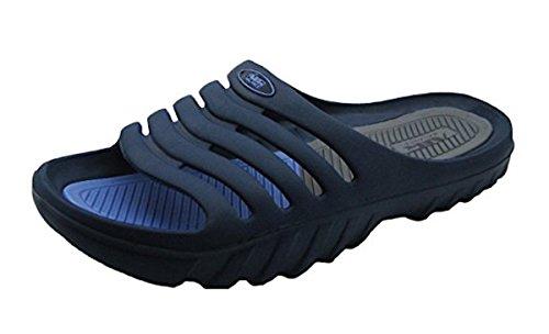 Shoe Shack Shower and Pool Sandal - Slide - Blue Sandals Waterproof