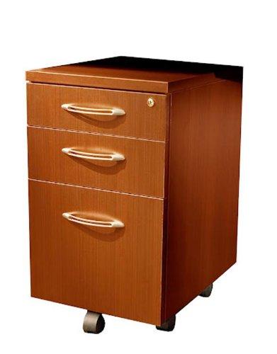 sold separately Mayline AMK20LDC Aberdeen Mobile Kit 20 Pedestal Lid and 4 Casters Mocha Tf File Pedestal
