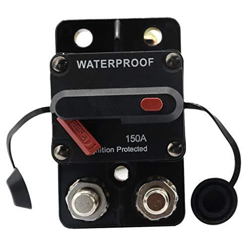 flameer 150a amp circuit breaker manual reset marine trolling motors