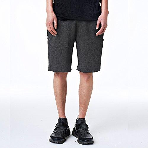 WDDGPZDK Strand Shorts/Sommer Bekleidung Shorts Men's Casual Knielange Shorts Männlichen Zugschnur Kurz