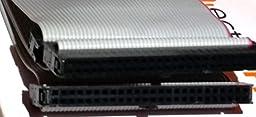 PC Accessories - Connectors Pro 24 Inches 3 Female Connectors IDC 2x25 50P SCSI Internal Flat Ribbon Cable, 24\