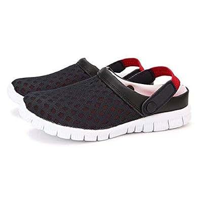 ROCK Black Comfort Sandal For Unisex