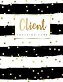 Client Tracking Book: Hairstylist Client Data