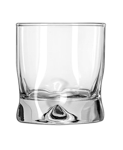 Libbey Crisa Impressions 8-Ounce Juice Glass, Box of 12, Clear
