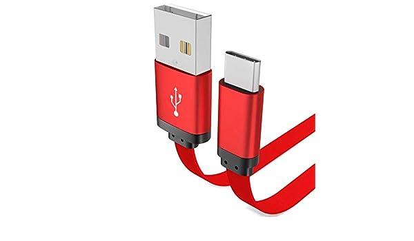 Wenquan,Cable de Cargador Tipo 1M para Galaxy S8 Plus Xiaomi ...