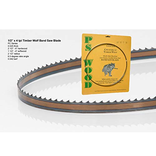 """Timber Wolf Bandsaw Blade 1/2"""" x 93-1/2"""""""