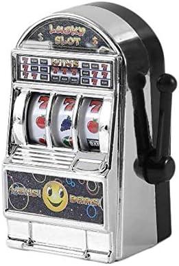 Grifrife - Mini Lucky Sevens Jumbo Slot - Banco para máquina de replicar Frutas, aliviar el estrés, ansiedad, Boredom, Juguete de descompresión Dorado: Amazon.es: Hogar