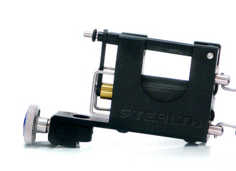 StealthLite Rotary LINER & SHADER Tattoo Machine (3mm Long Swing) (Stealth Machine Tattoo)