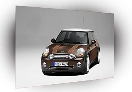 Cars Concepts Mini Cooper Rally Lights Art A2 Large Canvas 255 X