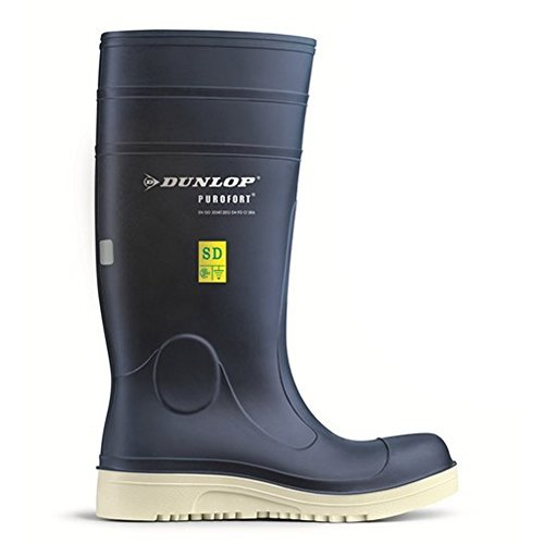 Purofort Comfort Grip Work Safely Blue Shoes F260673 Size - 11 by Dunlop
