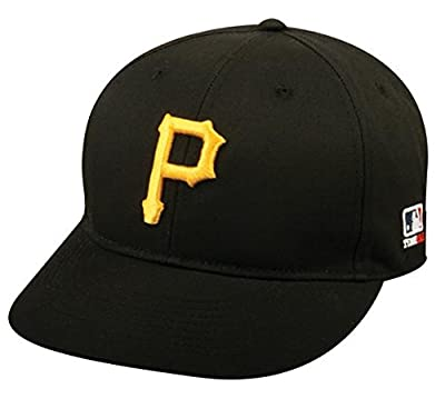 Youth MLB Licensed Replica Caps / All 30 Teams, Official Major League Baseball Hat of Youth Little League and Youth Teams , Pittsburgh Pirates -Home