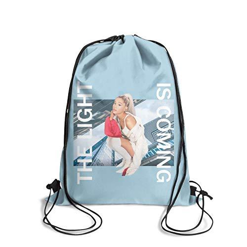 KDKASO Drawstring Backpack Cool Backpacks Hopping Sport Yoga Gym Bag for Men and Women