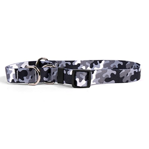 Yellow Dog Design Martingale Slip Collar, Camo Black & White, Extra Small 10