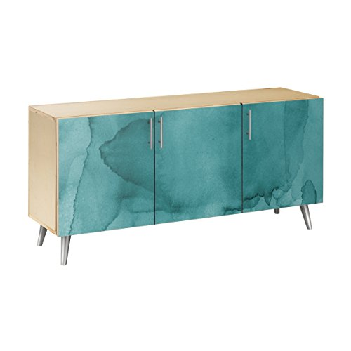 Nye Koncept 13004006 Pacific Waters Flare Sideboard44; Natural & Chrome from Nye Koncept