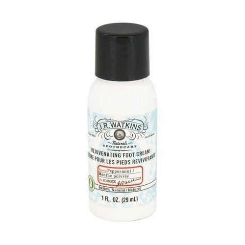 J.R. Watkins Foot Cream, Peppermint, 1 Ounce (Foot Cream Watkins Rejuvenating)