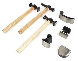 Br der mannesmann m 207 r set de martillos 7 piezas - Herramientas del albanil ...