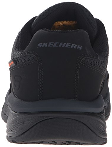 Skechers Work Mens Conroe Searcy Scarpa Da Lavoro Larga, Nero, 8 W Us