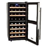 Koldfront TWR327ESS 32 Bottle Free Standing Dual