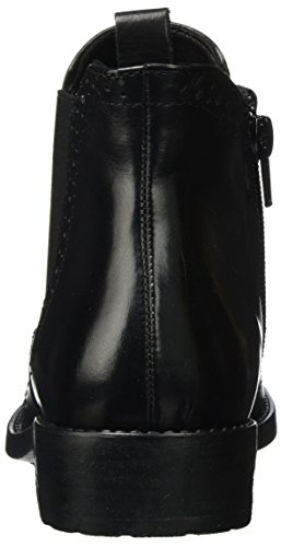 Bottes Tamaris black Femme Noir Leather Chelsea 25493 550SnfO