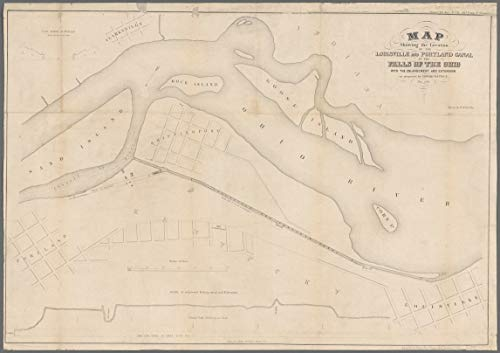 Vintography Reprinted 18 x 24 1856 Map of Washington, D.C. Philadelphia, Survey of 1894, ed. of 1898, repr. 1905. Government Printing Office? 0 0 24a by Vintography