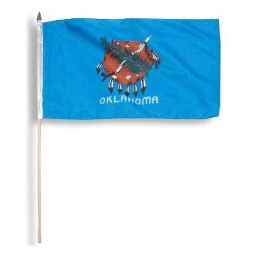 US Flag Store Oklahoma Flag 12 x 18 inch
