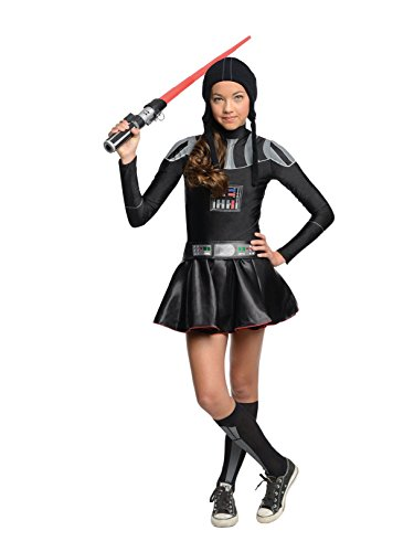 Star Wars Darth Vader Tween Costume Dress, Medium
