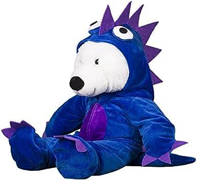 Teddy Mountain Azul/Morado Disfraz de Monstruo Oso Outfit (8 ...