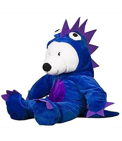 1d0dc92a Amazon.com: Blue/Purple Monster Costume Teddy Bear Clothes Fits Most ...