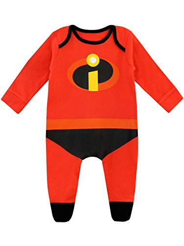 The Incredibles Onesie (Disney Baby Boys' The Incredibles Footies Size 0-3M)