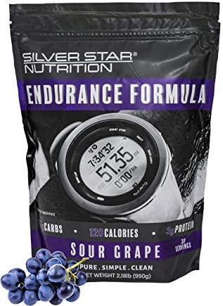 Silver Star Nutrition Endurance Formula Sour Grape, 2.18 Pounds