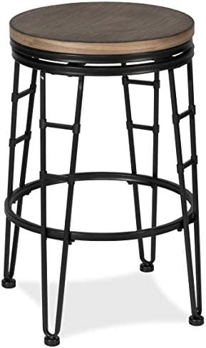 Hillsdale Furniture North Park Backless Swivel Counter Stool