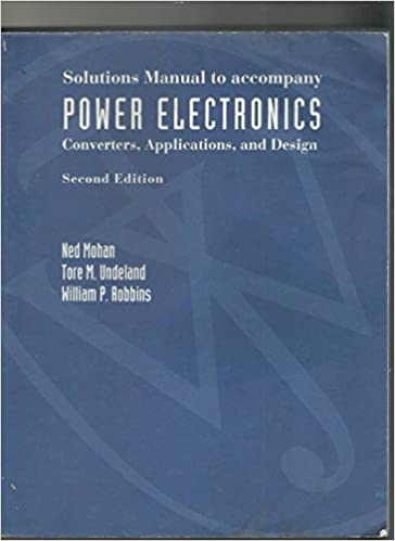 erickson power electronics solution manual