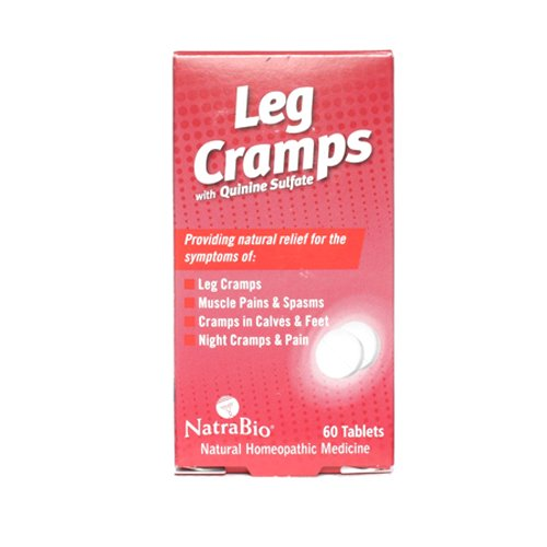 Natrabio Leg Cramps Tablets, 60 count (Pack of 12)