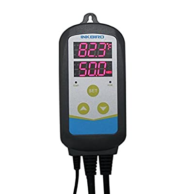 INKBIRD Humidity and Temperature Dual-use Controller 1200W 110V, Thermostat Hygrostat