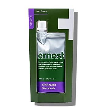 Amazon com: Ernest Caffeinated Coffee Face Scrub 3 Oz! Caffeine