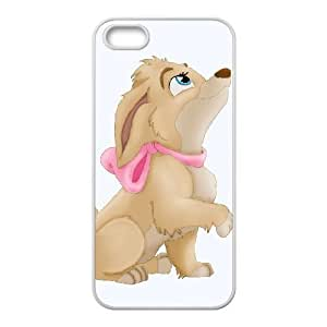 iPhone 5 5s Phone Case Cover White Lady and the Tramp II Scamp's Adventure EUA15967302 3D Unique Cell Phone Case