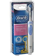Oral-B Vitality Power Brush Sensitive (2up) Rechargeable Electric Toothbrush (powered by Braun), 0.315 kilograms