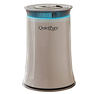 Quietpure whisper air purifier home kitchen for Office air purifier amazon
