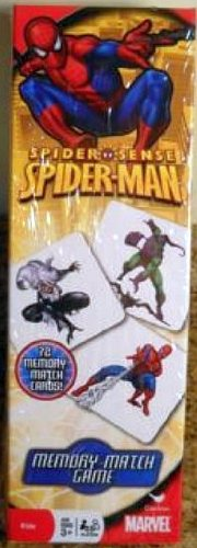 Marvel Spiderman Spider Sense Memory Match Game (72 Cards) Intended For Ages 3 and Up