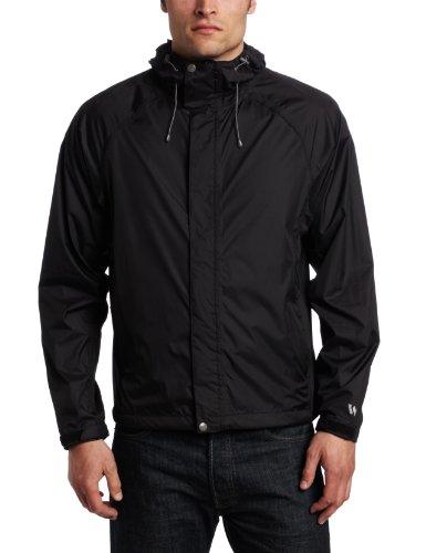 White Sierra Men's Trabagon Jacket (Black, (Sierra Waterproof Jacket)